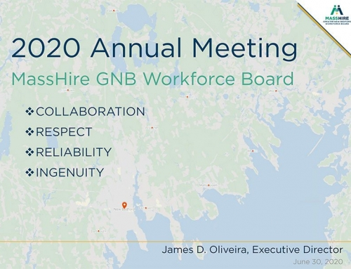 2020 MassHire Workforce Board Annual Meeting and Presentation