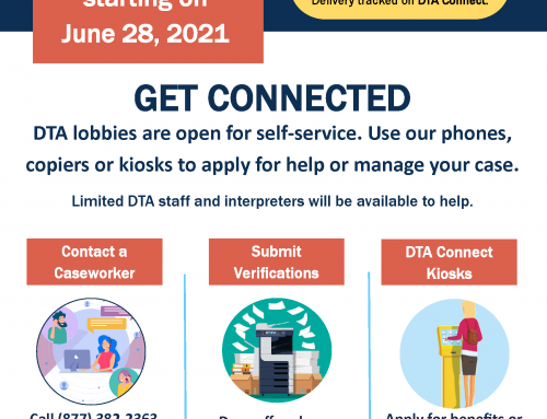 DTA to Reopen Local Transitional Assistance Offices for Limited Services on June 28