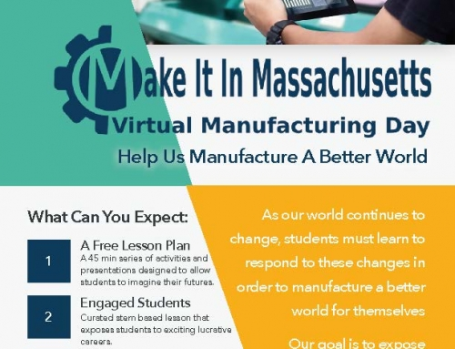 Make it in Massachusetts Virtual Event Invitation to Schools Oct. 19-24