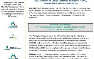 MACWIC Level 1 + OSHA 10 + Principles of Lean FREE TRAINING PROGRAM