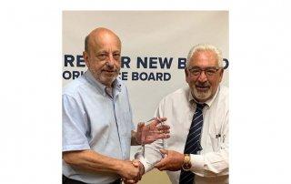 MHGNB WB Board member Paul Correira and Ecexutive Director Jim Oliviera