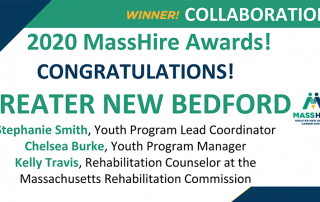Greater New Bedford Career Center Winner of Living MassHire Award for Collaboration