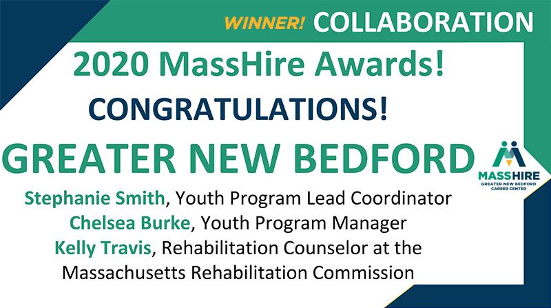 Greater New Bedford Career Center Winner of Living MassHire Award for Collaboration