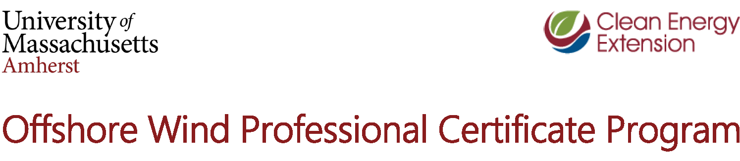 Offshore Wind Professional Certificate