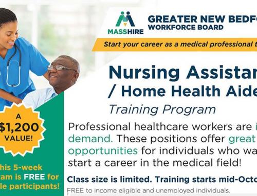 STARTING MID-OCTOBER! — Nursing Assistant Training Program