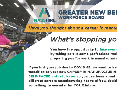 Have you thought about a career in manufacturing?